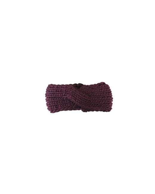 Morgan Taylor - Purple Chunky Knit Turban Headband - Lyst
