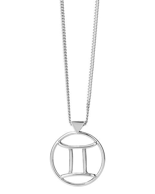 Karen Walker | Metallic Gemini Necklace | Lyst
