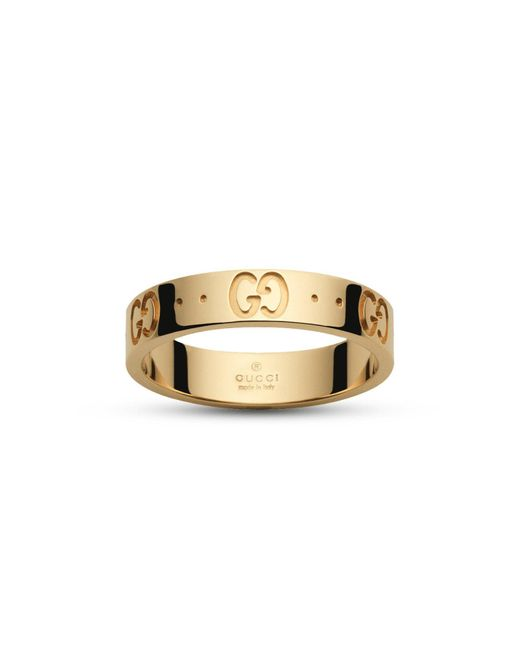 Gucci | Metallic Icon Collection Ring | Lyst