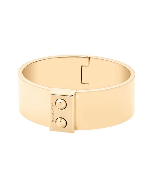Michael Kors   Metallic Hamilton Hinge Cuff Bracelet   Lyst