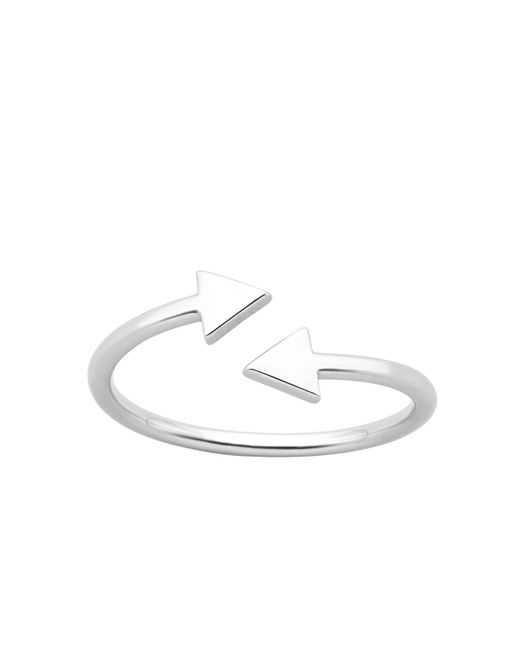 Karen Walker - Metallic Celestial Arrows Ring Med - Lyst