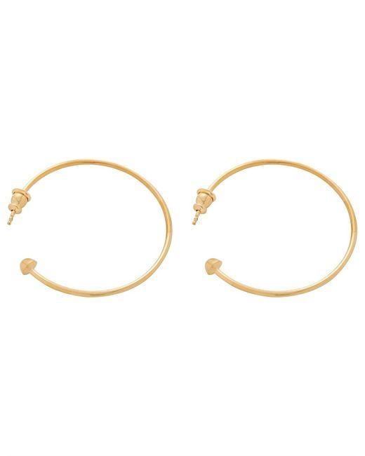 Chloé Metallic Names Earrings