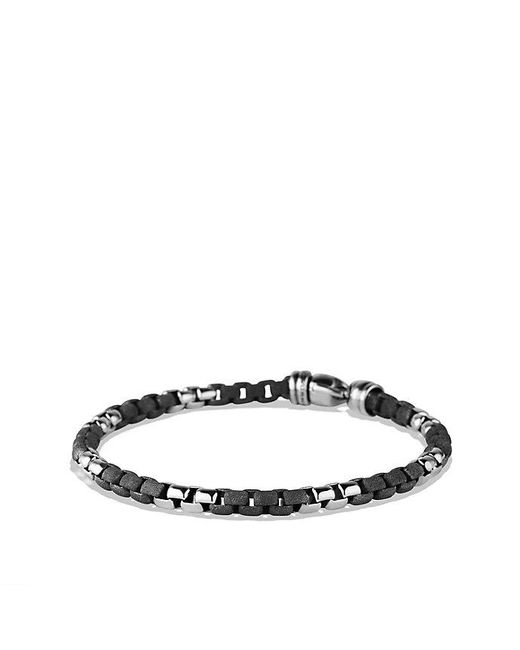 David Yurman | Black Box Chain Bracelet 5.2 Mm | Lyst