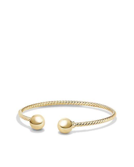 David Yurman - Metallic Solari Bead Bracelet In 18k Gold - Lyst