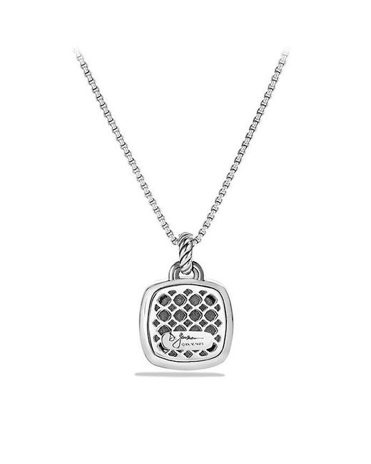 David Yurman - Metallic Albion® Pendant With Diamonds, 17mm - Lyst