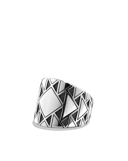 David Yurman | Metallic Frontier Ring for Men | Lyst