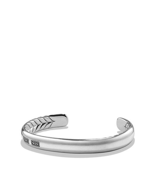 David Yurman - Metallic Streamline Cuff Bracelet for Men - Lyst