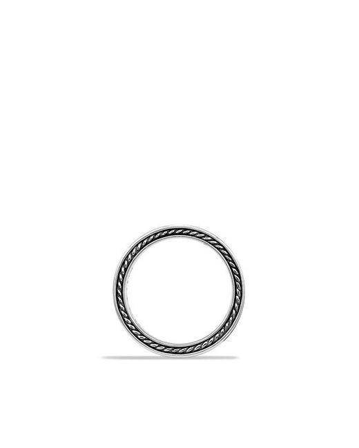 David Yurman | Metallic Streamline Two-row Band Ring With Diamonds for Men | Lyst