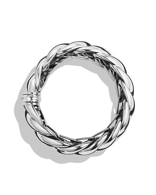 David Yurman - Metallic Hampton Cable Bracelet - Lyst