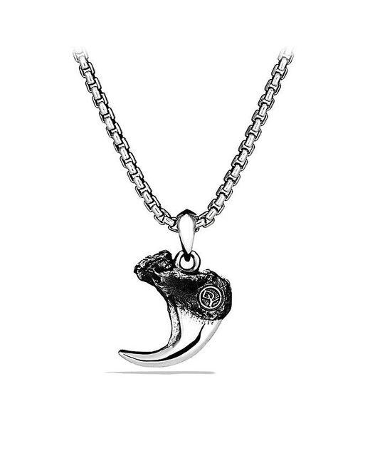 David Yurman | Metallic Petrvs Bobcat Claw Amulet | Lyst