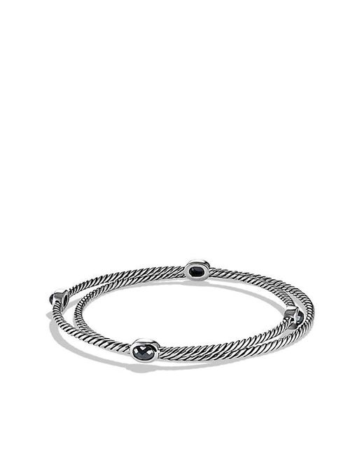 David Yurman - Metallic Color Classics Bangles With Hematine - Lyst