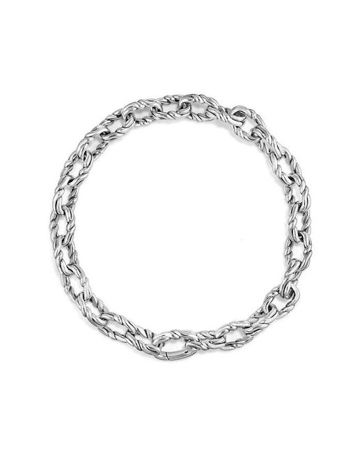 David Yurman - Metallic Continuance Small Twisted Cable Chain Bracelet for Men - Lyst