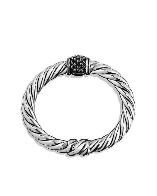 David Yurman | Multicolor Osetra Center Station Bracelet With Hematine, 10mm | Lyst