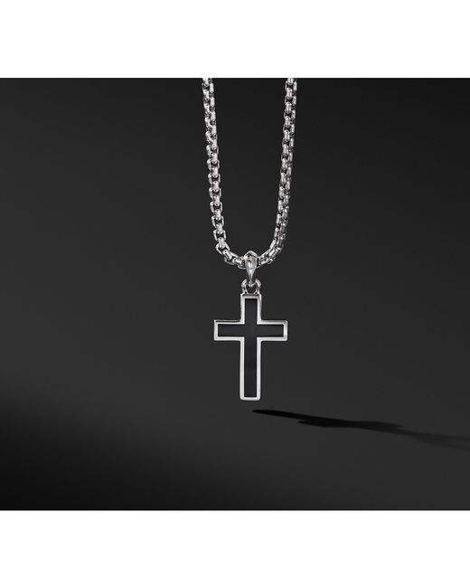 David Yurman - Exotic Stone Cross With Black Onyx for Men - Lyst