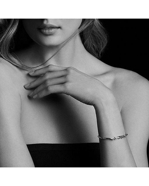 David Yurman | Metallic Dy Whispers Je T'aime Cuff Bracelet | Lyst