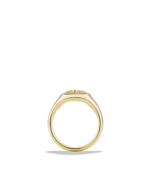 David Yurman | Metallic Petrvs Bee Signet Pinky Ring In 18k Gold for Men | Lyst