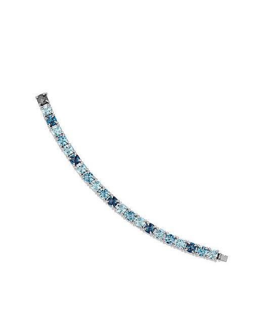 David Yurman - Metallic Châtelaine Bracelet With Hampton Blue Topaz, Blue Topaz And Diamonds - Lyst