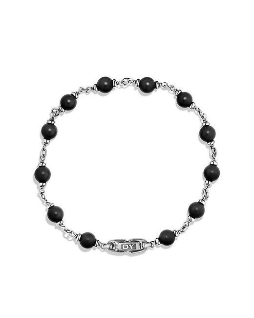 David Yurman | Spiritual Beads Rosary Bracelet In Black Onyx for Men | Lyst