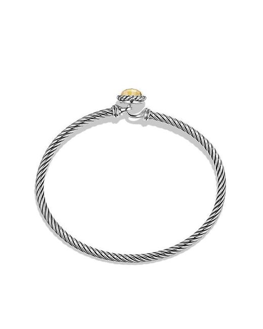 David Yurman | Metallic Chatelaine Bracelet With 18k Gold | Lyst