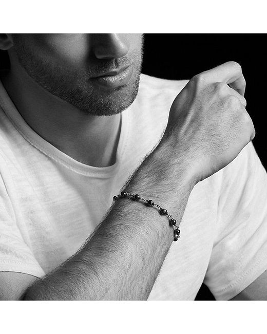 David Yurman | Spiritual Beads Rosary Bracelet In Red Tiger Eye for Men | Lyst