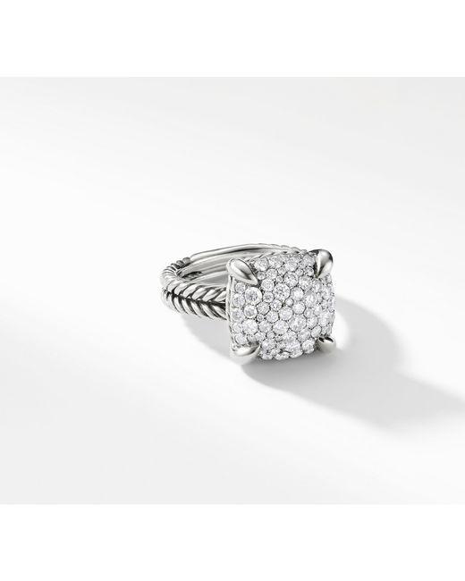 David Yurman - Metallic Chatelaine® Ring With Diamonds, 14mm - Lyst