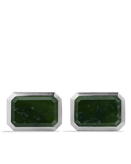 David Yurman | Green Heirloom Cufflinks With Jade for Men | Lyst