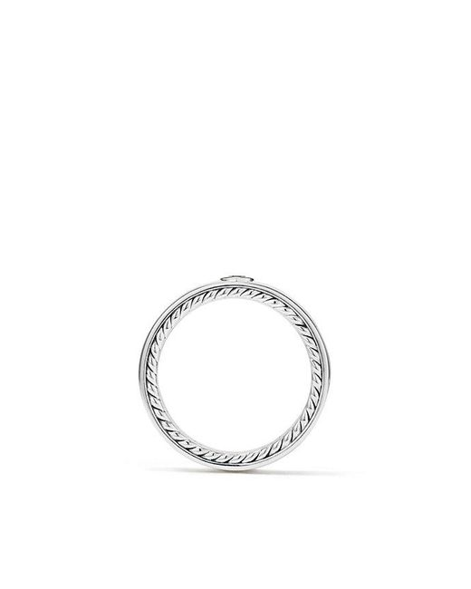 David Yurman | Streamline® Band Ring With Black Diamond, 6mm for Men | Lyst