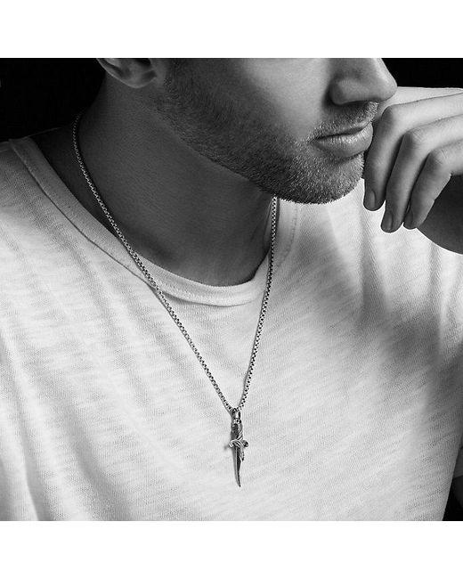 David Yurman | Metallic Waves Dagger Amulet for Men | Lyst