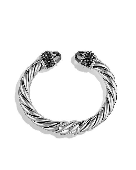 David Yurman - Metallic Osetra Bracelet With Hematine, 10mm - Lyst
