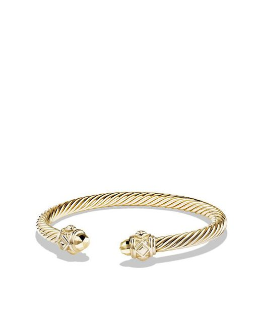 David Yurman - Metallic Renaissance Bracelet In 18k Gold, 5mm - Lyst