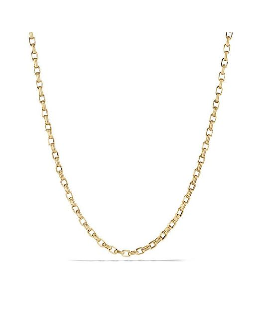 David Yurman | Metallic Chain Necklace In 18k Gold for Men | Lyst