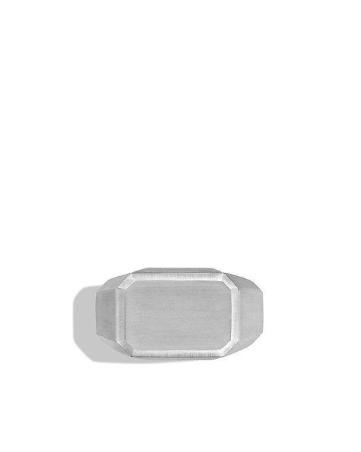David Yurman | Metallic Heirloom Streamline Signet Ring for Men | Lyst