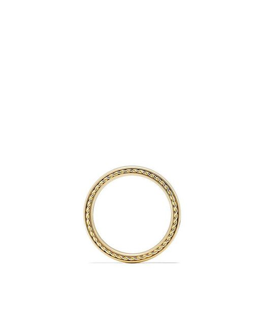 David Yurman - Metallic Streamline Band Ring In 18k Gold, 4mm for Men - Lyst