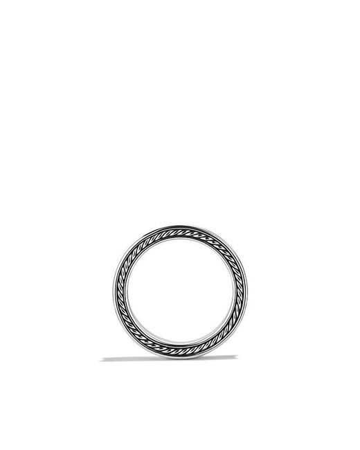 David Yurman - Metallic Streamline Three-row Band Ring With Diamonds for Men - Lyst