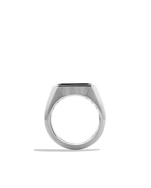 David Yurman | Blue Heirloom Streamline Signet Ring With Pietersite for Men | Lyst