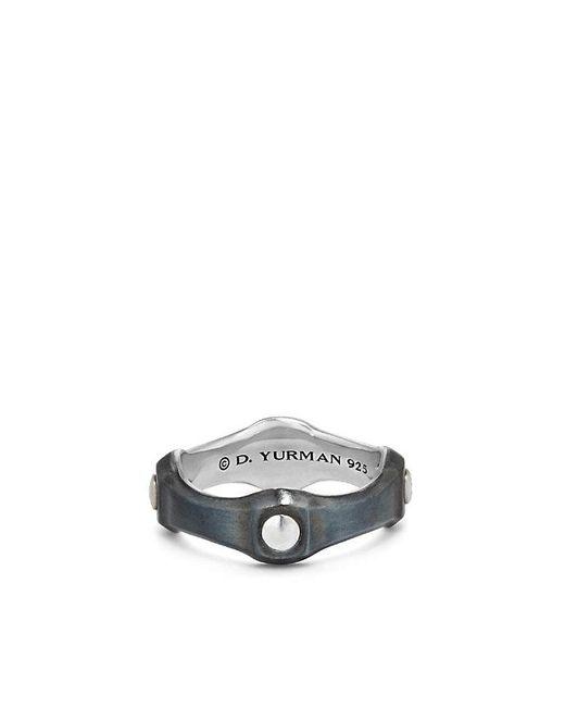 David Yurman   Metallic Anvil Band Ring, 8mm for Men   Lyst