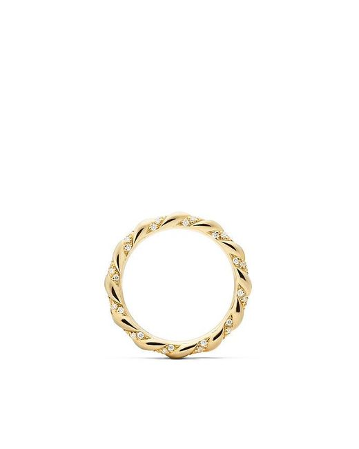 David Yurman | Metallic Dy Unity Wedding Band With Diamonds In 18k Gold, 2.6mm | Lyst