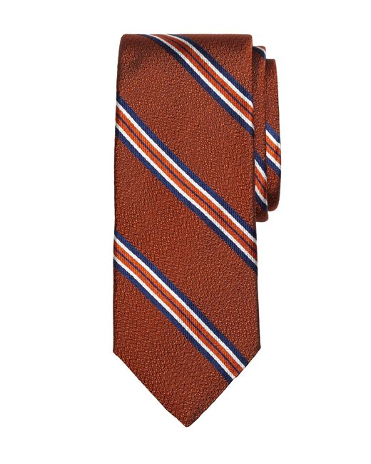 Brooks Brothers | Orange Framed Stripe Tie for Men | Lyst