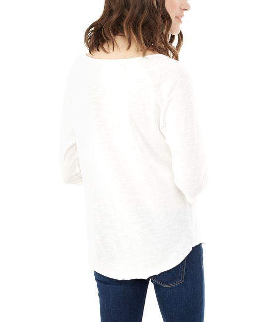 Alternative Apparel | White Minor League Washed Slub Baseball T-shirt for Men | Lyst