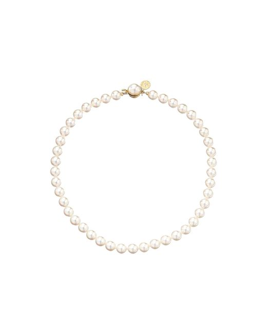 Majorica | Metallic 1 Row 8mm Pearl Necklace | Lyst