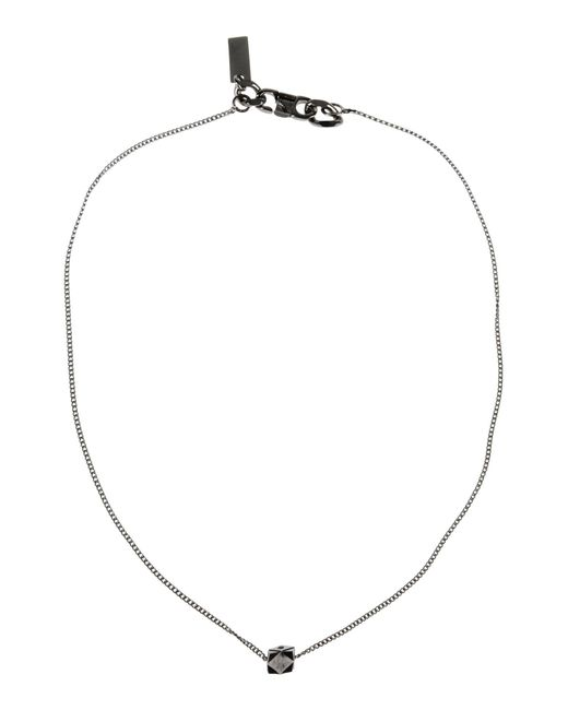 Armani | Metallic Necklace | Lyst