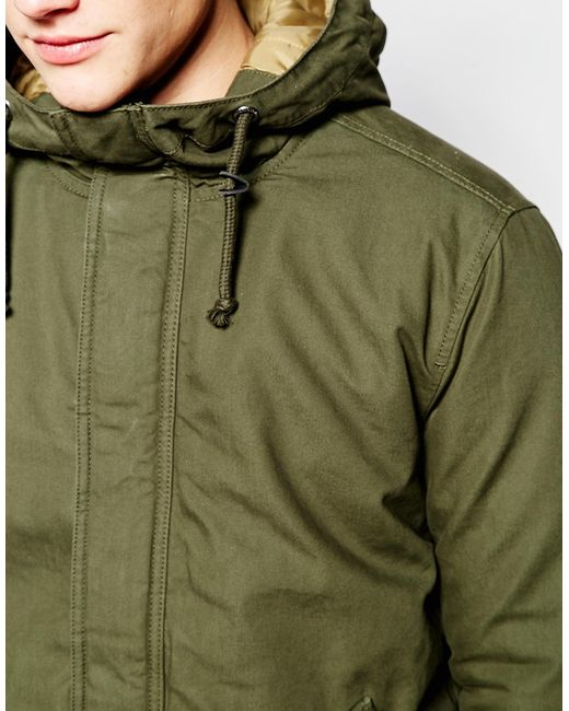 jack jones jacket in green for men forest save 56 lyst. Black Bedroom Furniture Sets. Home Design Ideas