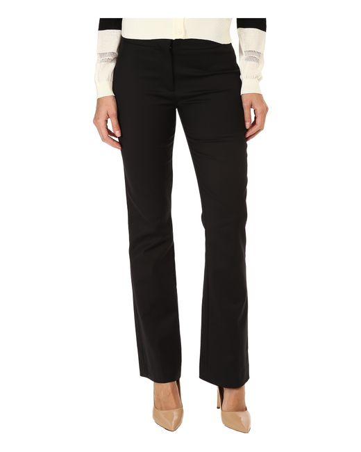 CoSTUME NATIONAL | Black Boot Cut Trouser | Lyst