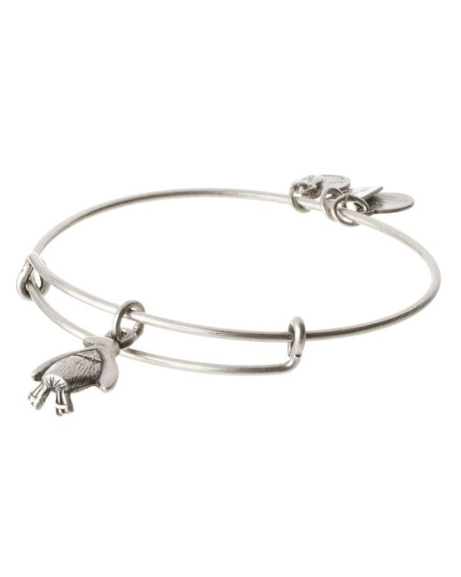 ALEX AND ANI | Metallic Penguin Charm Bangle | Lyst
