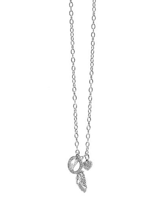 Guess | Metallic City Of Angeles Necklace | Lyst