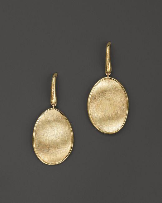 Marco Bicego | Metallic 18k Yellow Gold Lunaria Drop Earrings | Lyst
