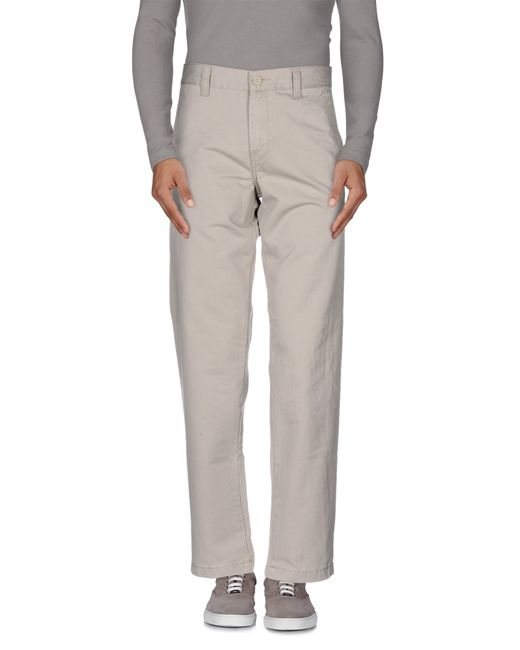 Carhartt | Gray Casual Trouser for Men | Lyst