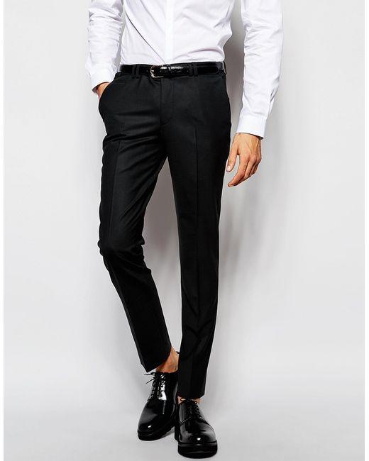 Noak | Suit Pants In Super Skinny Fit - Black for Men | Lyst