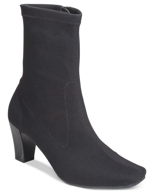 Aerosoles | Black Geneva Dress Boots | Lyst