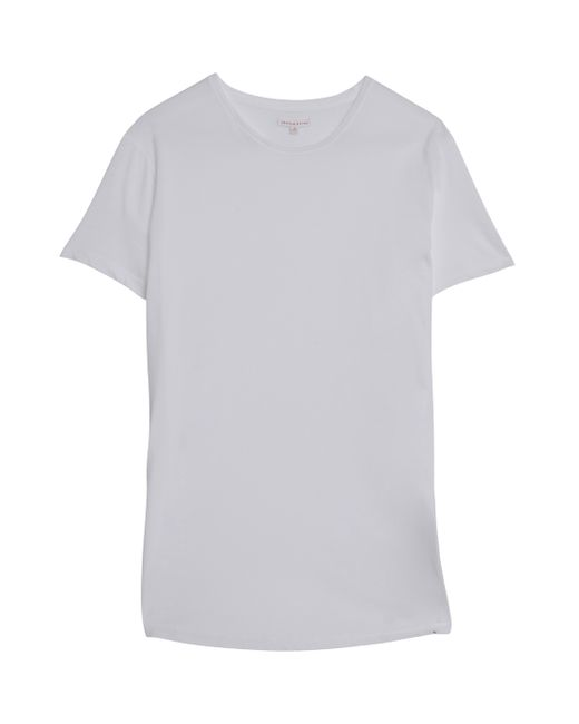 Orlebar Brown | White Ss Crew Neck Tshirt for Men | Lyst